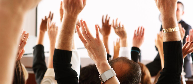 Unser Verband ist transparent und demokratisch: Die Mitglieder entscheiden.